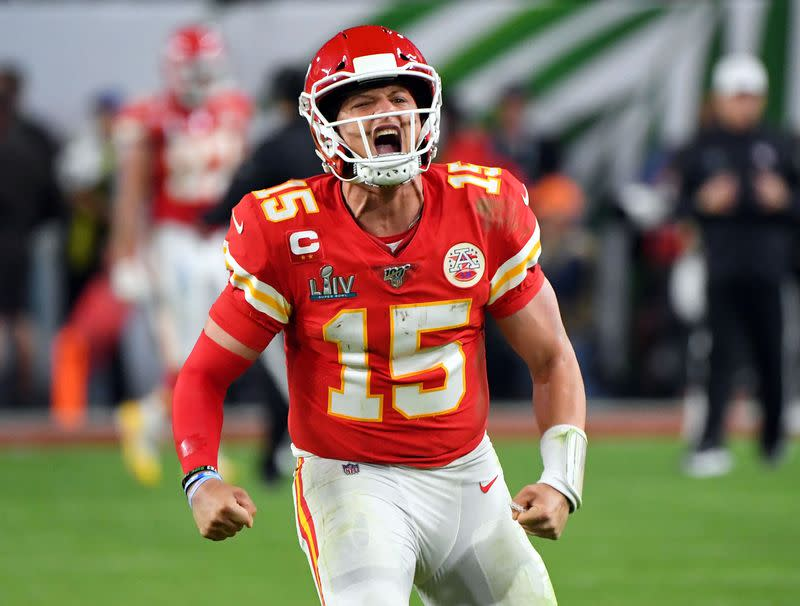 'Here to stay': Super Bowl MVP Mahomes signs 10-year extension with Chiefs