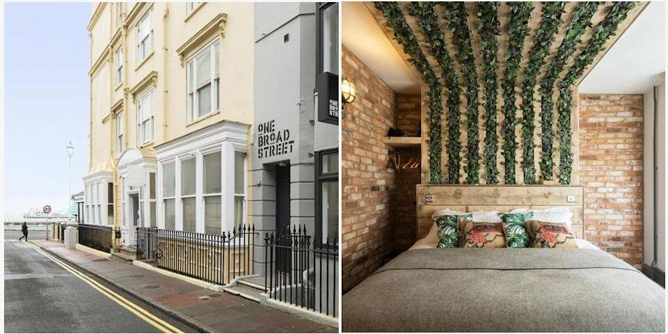 "<p>One Broad Street hotel is ideally situated just 350 yards from The Royal Pavilion and five minutes from the Pier. Its modern, stylish rooms provide a perfect base for exploring what Brighton has to offer.</p><p><a class=""link rapid-noclick-resp"" href=""https://go.redirectingat.com?id=127X1599956&url=https%3A%2F%2Fwww.booking.com%2Fhotel%2Fgb%2Fone-broad-street-brighton-amp-hove.en-gb.html%3Faid%3D2070929%26label%3Dtrending-uk-breaks&sref=https%3A%2F%2Fwww.redonline.co.uk%2Ftravel%2Finspiration%2Fg36037530%2Ftrending-summer-holiday-locations-uk%2F"" rel=""nofollow noopener"" target=""_blank"" data-ylk=""slk:CHECK AVAILABILITY"">CHECK AVAILABILITY</a></p><p><strong>Sign up for inspirational travel stories and to hear about our favourite financially protected escapes and bucket list adventures.</strong></p><p><a class=""link rapid-noclick-resp"" href=""https://hearst.emsecure.net/optiext/optiextension.dll?ID=y_jyzVjkVOLriSE7FGQSZGKd2N3MLYoM_Oq8NR9MT8hFZnl8ZsrCUG075elObNgTkQgWpkPrG59Ryx"" rel=""nofollow noopener"" target=""_blank"" data-ylk=""slk:SIGN UP"">SIGN UP</a></p>"