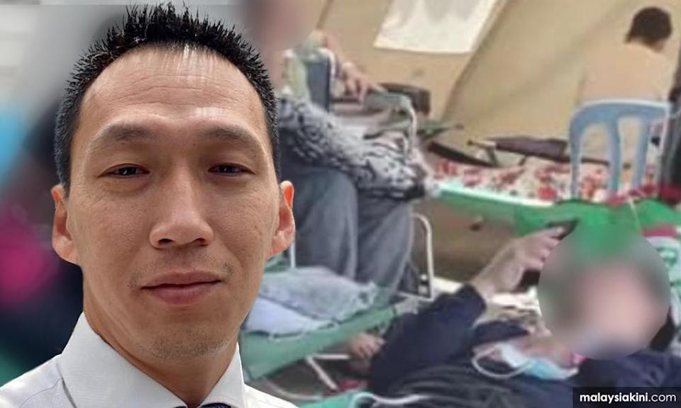 Rep fumes over patients sleeping on the floor, wants minister's head to roll