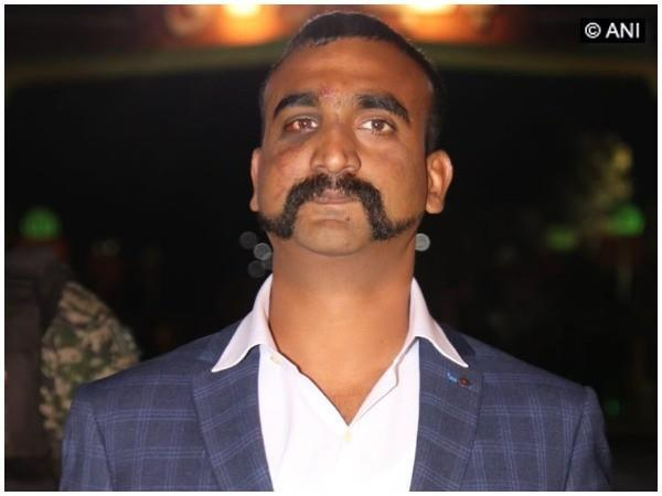 Indian Air Force pilot Wing Commander Abhinandan Varthaman