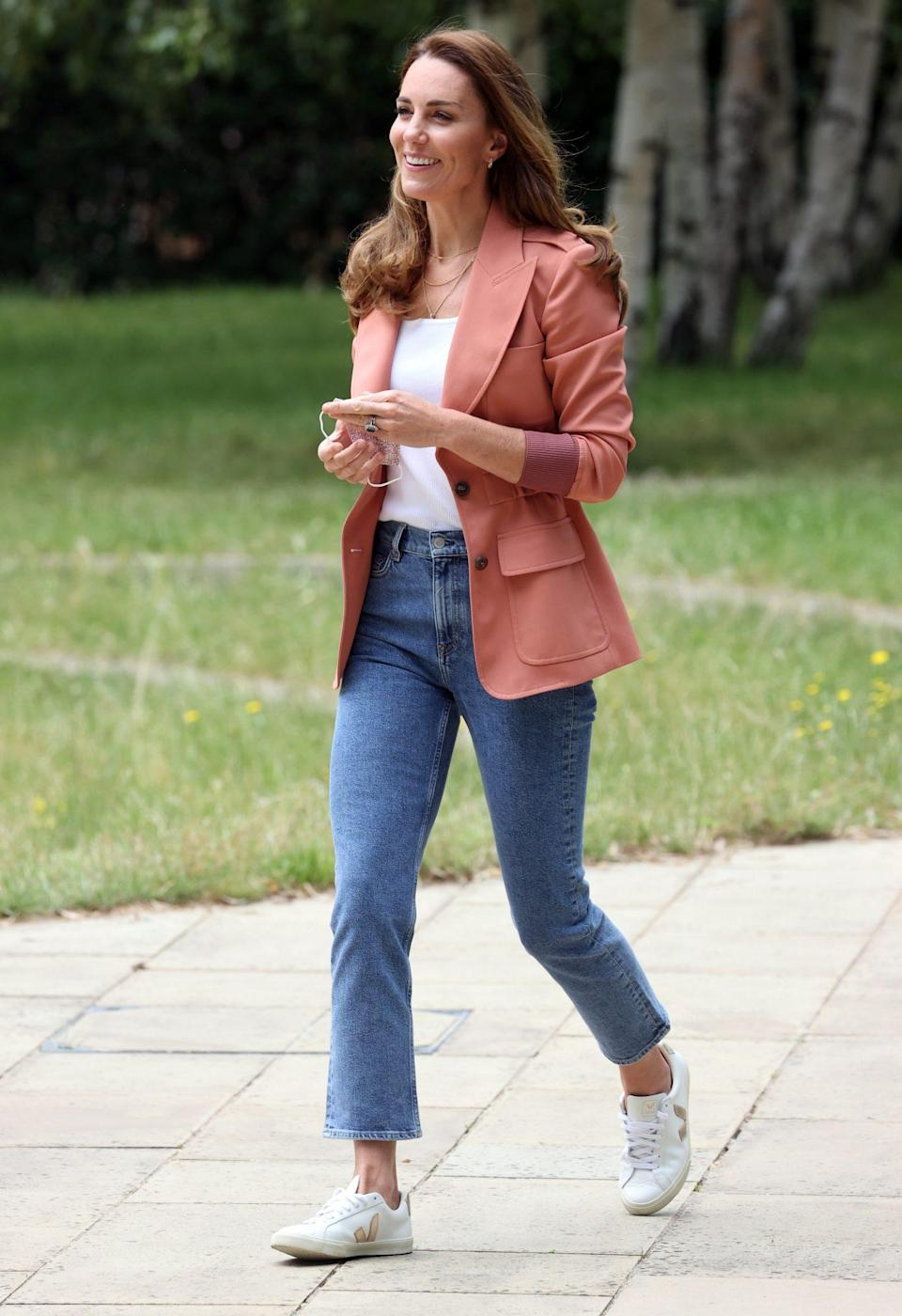 <p>Kate Middleton visits The Urban Nature Project at The Natural History Museum in London on June 22.</p>