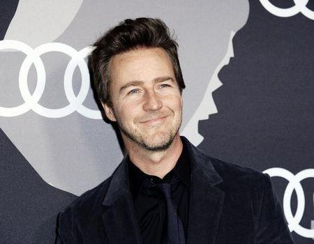 Edward Norton poses during Audi Celebrates Golden Globes Week 2015 event in West Hollywood