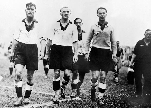 Spurs bid a tearful farewell to the ground they called home for 118 years but one match it hosted wont be remembered with such affection. John Harding remembers the controversial England vs Germany friendly on this day in December 1935