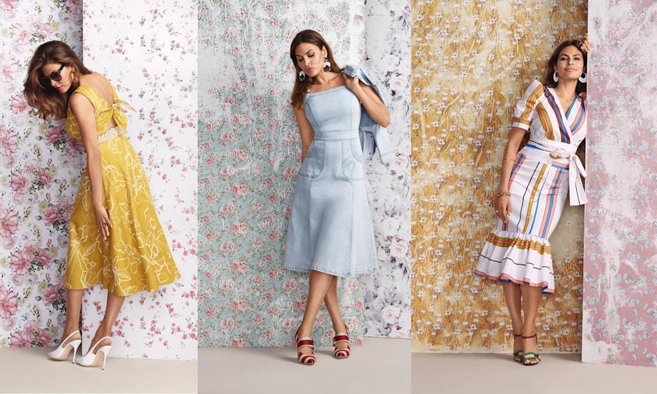 Eva Mendes x New York & Company new spring collection is here. (Photo: New York & Company)