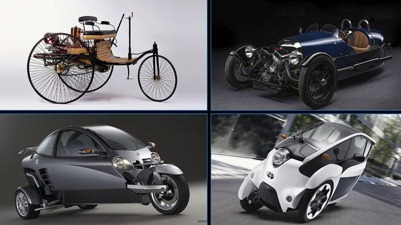 "<p>Three-wheelers are cute vehicles to look at. We're so much accustomed to cars having four wheels that we almost forget that the first legit motor vehicle back in the 1800s only had three wheels. There's a lot of history from that, but it sure was an eye-opener, maybe?</p> <p>There were a lot of three-wheeled vehicles that were introduced to the world, but only a few was known to many. Each of the three-wheelers in this list are different from one another – from almost tricycles to war-veteran-looking to good-looking roadsters. There was even a van with three wheels and a <a rel=""nofollow"" href=""https://www.motor1.com/mazda/?utm_campaign=yahoo-feed"">Mazda</a> truck. Make sure to check them all out in this slideshow.</p>  <h2>While you're at it, here are other three-wheeler news:</h2>  <a rel=""nofollow"" href=""https://www.motor1.com/news/140881/honda-hybrid-electric-three-wheeler/?utm_campaign=yahoo-feed""><img/>Honda Hybrid Electric Three-Wheeler On the Way?</a> <a rel=""nofollow"" href=""https://www.motor1.com/news/243845/nobe-100-three-wheel-ev/?utm_campaign=yahoo-feed""><img/>Estonia's Nobe Launches Adorable Three-Wheel EV</a>  <br>"