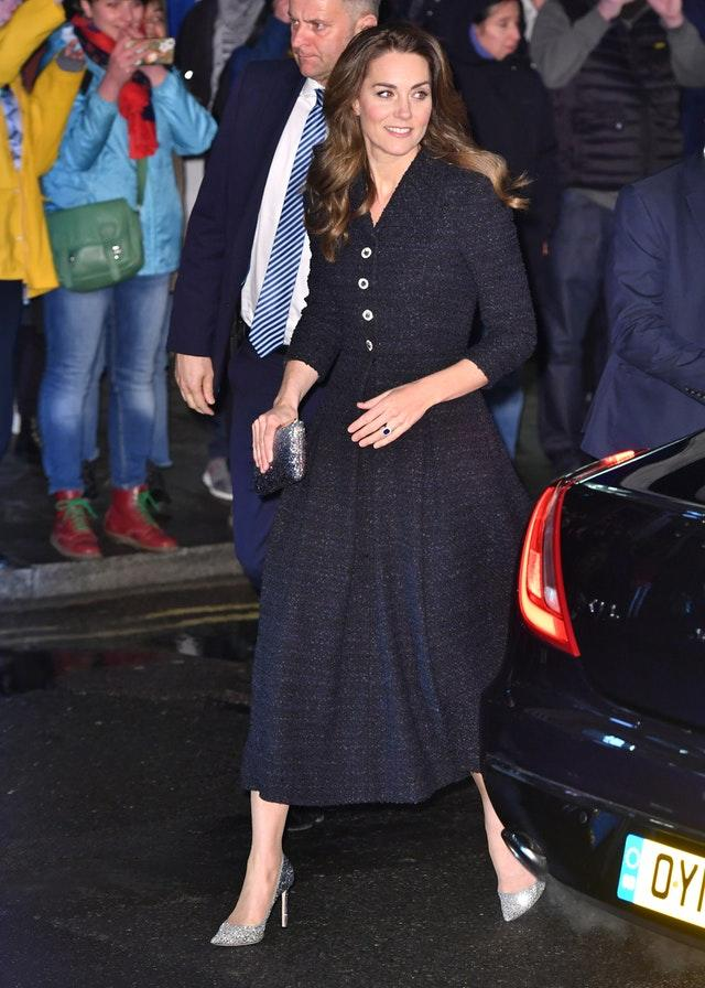 Royal visit to the Noel Coward Theatre