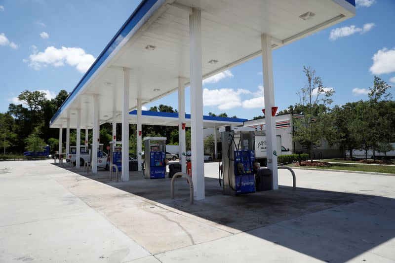 Gas shortage in southeastern United States