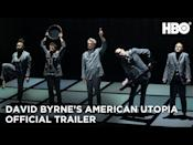 "<p><em>David Byrne's American Utopia—</em>where Spike Lee puts Byrne's legendary Broadway show to film<em>—</em>is so good that we put both men <a href=""https://www.esquire.com/entertainment/music/a34286588/david-byrne-spike-lee-american-utopia-interview/"" rel=""nofollow noopener"" target=""_blank"" data-ylk=""slk:on the cover of Esquire to talk about it"" class=""link rapid-noclick-resp"">on the cover of <em>Esquire </em>to talk about it</a>.  </p><p><a class=""link rapid-noclick-resp"" href=""https://go.redirectingat.com?id=74968X1596630&url=https%3A%2F%2Fwww.hbomax.com%2Ffeature%2Furn%3Ahbo%3Afeature%3AGXz_UiQLm9UehuQEAAAJa&sref=https%3A%2F%2Fwww.esquire.com%2Fentertainment%2Fmovies%2Fg35307948%2Fbest-movies-on-hbo-max%2F"" rel=""nofollow noopener"" target=""_blank"" data-ylk=""slk:Watch Now"">Watch Now</a></p><p><a href=""https://www.youtube.com/watch?v=lg4hcgtjDPc"" rel=""nofollow noopener"" target=""_blank"" data-ylk=""slk:See the original post on Youtube"" class=""link rapid-noclick-resp"">See the original post on Youtube</a></p>"