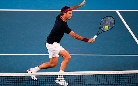 Federer takes a 2-1 lead - Credit: AFP