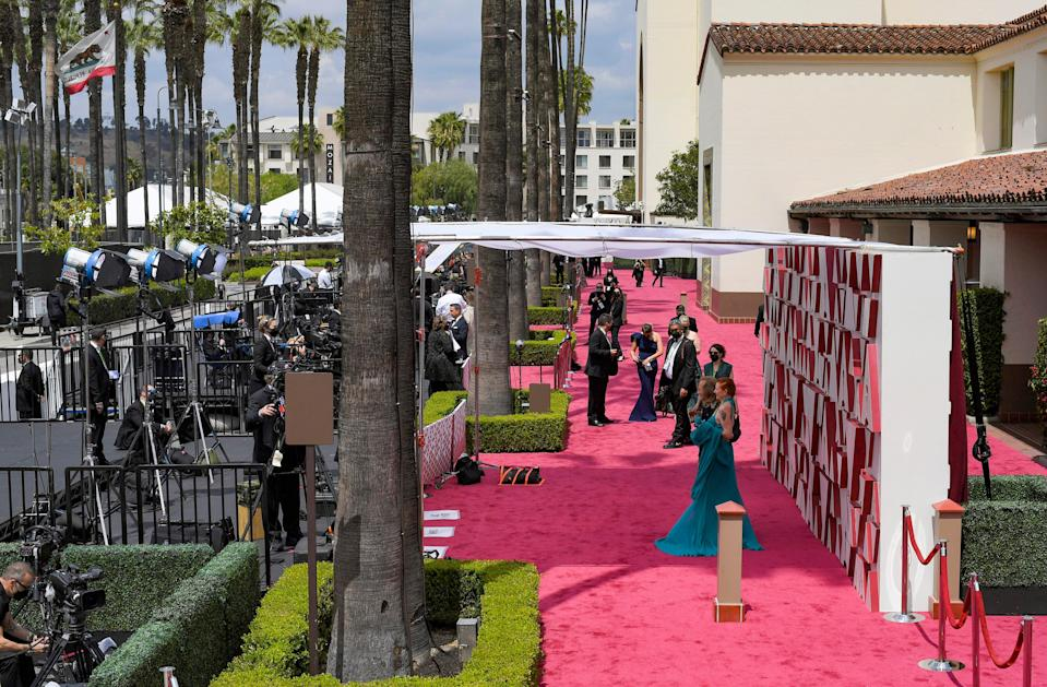 The A-list descended on Los Angeles' Union StationGetty Images