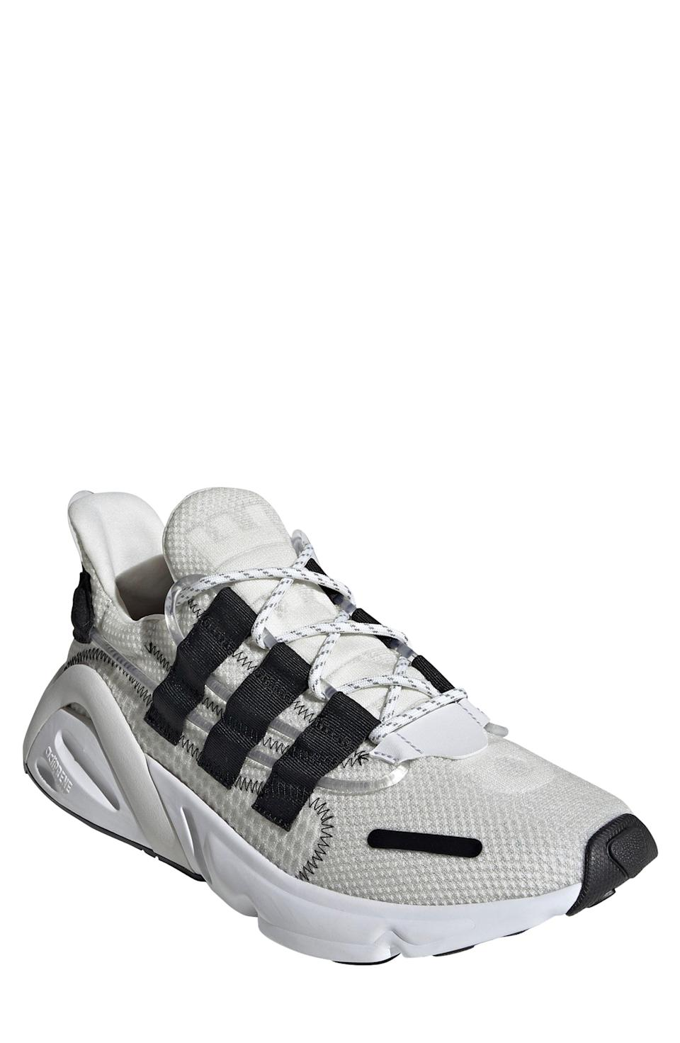 """<p><strong>ADIDAS</strong></p><p>nordstrom.com</p><p><strong>$80.40</strong></p><p><a href=""""https://go.redirectingat.com?id=74968X1596630&url=https%3A%2F%2Fwww.nordstrom.com%2Fs%2Fadidas-lxcon-sneaker-men%2F5464549&sref=https%3A%2F%2Fwww.esquire.com%2Fstyle%2Fg36535194%2Fnordstrom-mens-sale-half-yearly-spring-2021%2F"""" rel=""""nofollow noopener"""" target=""""_blank"""" data-ylk=""""slk:Shop Now"""" class=""""link rapid-noclick-resp"""">Shop Now</a></p><p>Adidas brought its Lexicon sneakers from the '90s back to life in 2019 with a couple of new features, like Adiprene cushioning that provides you with out-of-this-world comfort all day long.</p>"""