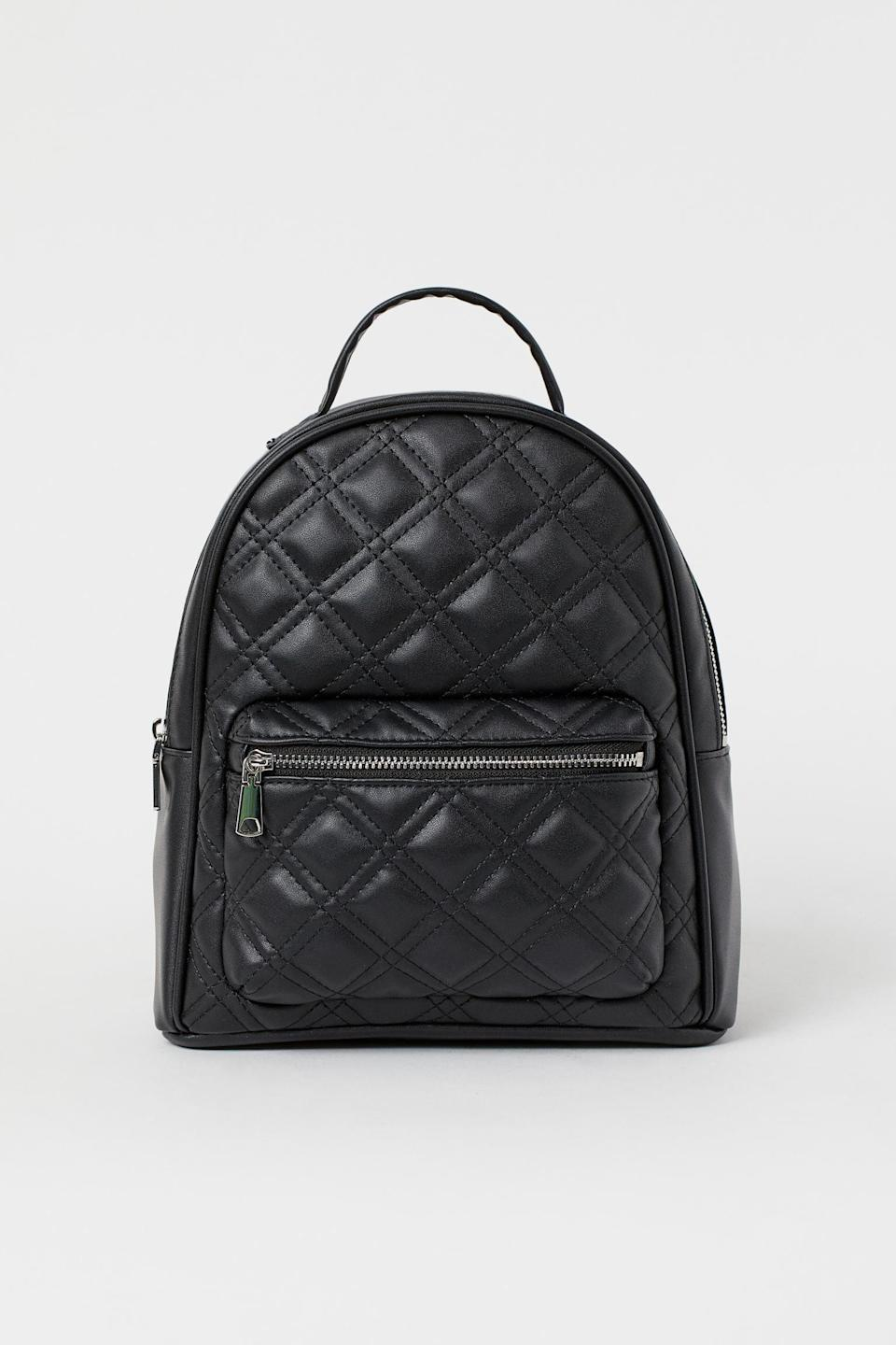 <p>All your travel-size essentials will fit in this <span>Small Backpack</span> ($25).</p>
