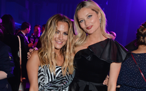 Caroline Flack (L) and Laura Whitmore attend the GQ Men of the Year Awards 2018 in association with HUGO BOSS at Tate Modern on September 5, 2018 in London, England.