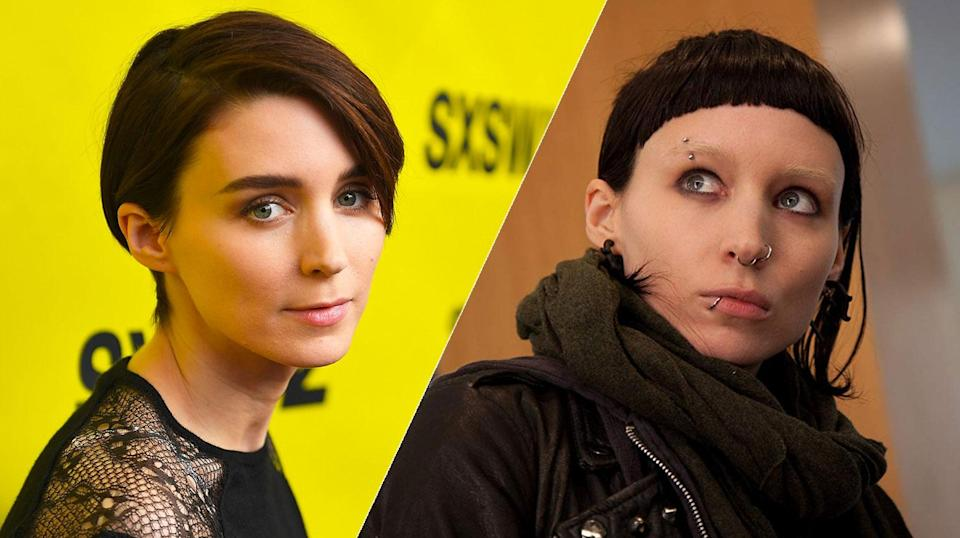 Rooney Mara went full cyber-goth for David Fincher.