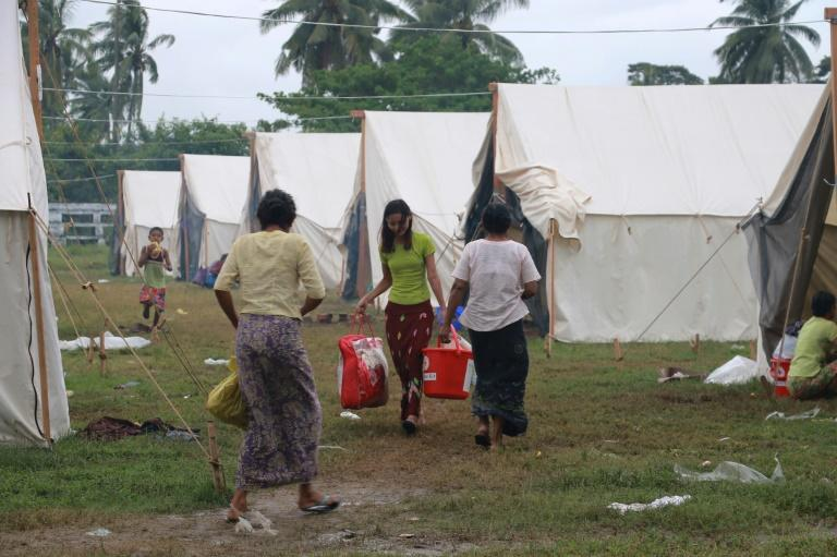 Tens of thousands of people from Rakhine's Muslim and Buddhist communities have ended up in internal displacement camps in the violence-hit region