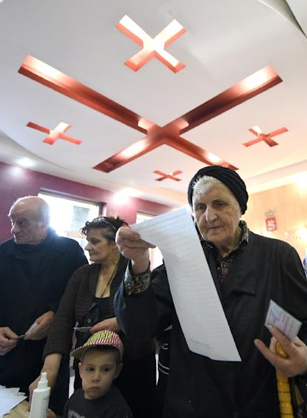 The most likely outcome is that there will be no overall winner, a political analyst says (AFP Photo/Vano Shlamov)