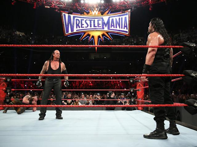 The Undertaker takes on Roman Reigns at WrestleMania (WWE)