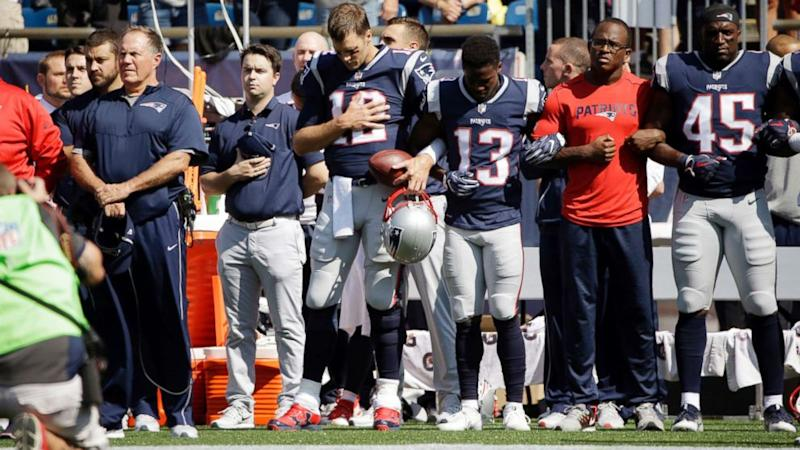 Tom Brady speaks out against Trump's 'divisive' comments on players taking a knee