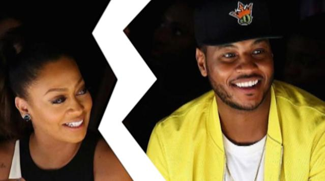 Carmelo Anthony and wife have separated