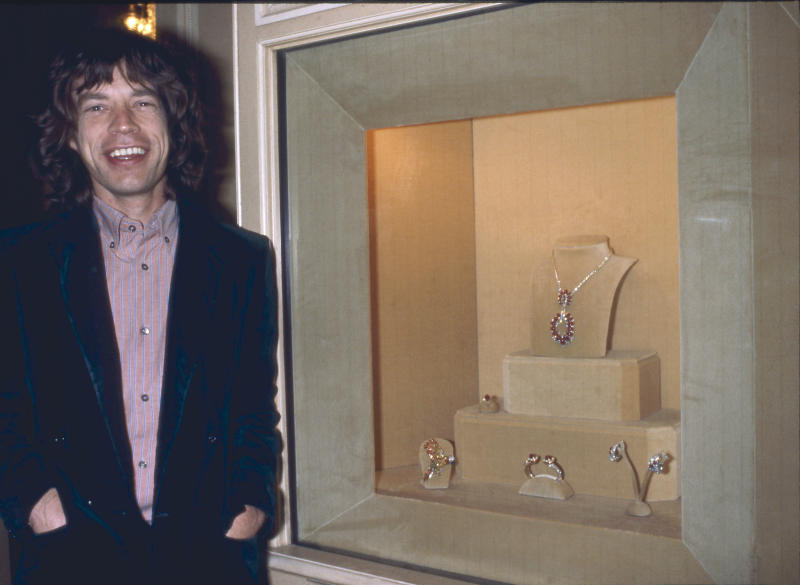 Mick Jagger in 1977, around the time Chong alleges they slept together. (Photo: Francis Apesteguy/Getty Images)