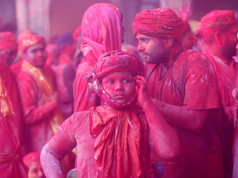 Got your smartphone drenched during Holi? You should be worried. Image: Reuters
