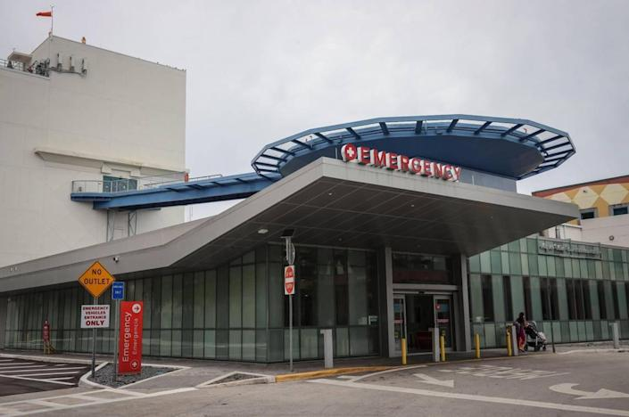 Nicklaus Children's Hospital in Miami has seen a spike in pediatric COVID-19 patients over the last three to four weeks. Of the 15 children hospitalized at Nicklaus Children's on Wednesday, Aug. 4, 2021, with COVID-19, about half were under 12, with the youngest being 2 months old, said Dr. Marcos Mestre, chief medical officer for the hospital. Five of the children were in intensive care, he said.