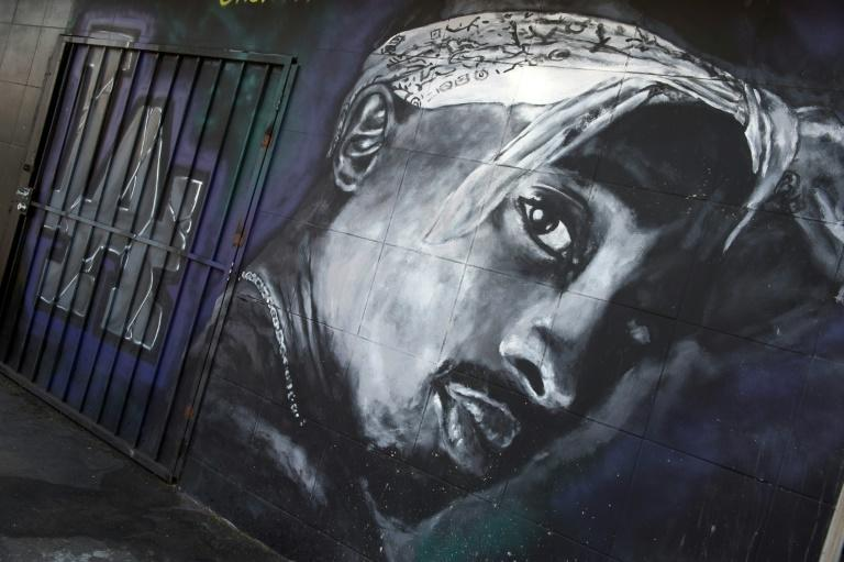 A wall in Los Angeles, California dedicated to the memory of Tupac Shakur is shown in this May 26, 2016 file photo
