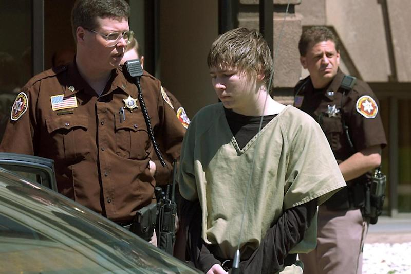 Brendan Dassey led out of a courthouse in 2006. (AP)