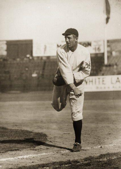 """<p><strong>September 23, 1908</strong>: Giants' rookie Fred Merkle's failure to touch second base on what appeared to be a game-winning hit against the Cubs resulted in the game ending in a tie, to be made up if necessary. At the end of the season, the Giants and Cubs tied for first place in the National League, and the Cubs won the makeup game to take the National League pennant. """"Merkle has gone down in history as one of these great goats, but it wasn't really his fault,"""" said Neil Lanctot, author of three books on baseball, including <em><a href=""""https://www.amazon.com/dp/B0043RSJ8Q/ref=dp-kindle-redirect?tag=syn-yahoo-20&ascsubtag=%5Bartid%7C10054.g.28170941%5Bsrc%7Cyahoo-us"""" rel=""""nofollow noopener"""" target=""""_blank"""" data-ylk=""""slk:Campy: The Two Lives of Roy Campanella"""" class=""""link rapid-noclick-resp"""">Campy: The Two Lives of Roy Campanella</a></em>. """"Merkle admitted that he had not touched second base, but said he only left the field after the infield umpire assured him the game was over.""""<br> </p>"""