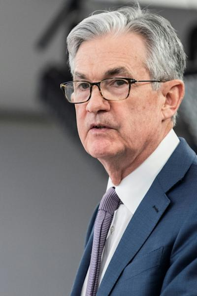 President Donald Tump has repeatedly criticized and berated Federal Reserve Chairman Jerome Powell for not doing more to boost the economy (AFP Photo/Eric BARADAT)