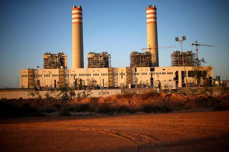 A power plant is seen in Sirte, Libya, November 1, 2017. Picture taken November 1, 2017. REUTERS/Ahmed Jadallah