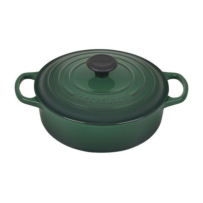 """<p><strong>Le Creuset</strong></p><p>lecreuset.com</p><p><a href=""""https://go.redirectingat.com?id=74968X1596630&url=https%3A%2F%2Fwww.lecreuset.com%2Fround-wide-dutch-oven---factory-to-table-sale-3-1-2-qt.%2FLS2552-FTT.html&sref=https%3A%2F%2Fwww.goodhousekeeping.com%2Flife%2Fmoney%2Fg33563225%2Fle-creuset-factory-sale-august-2020%2F"""" target=""""_blank"""">Shop Now</a></p><p><del>$295</del><strong><br>$177</strong></p><p>If you're looking to grow your Le Creuset collection, but have no idea where to start, feast your eyes on the classic Dutch Oven. This versatile option is suitable for everything from casseroles to roasts. </p>"""