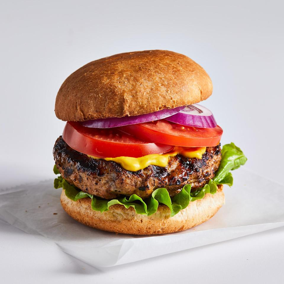 <p>A few key ingredients transform this simple burger into something truly juicy and delicious.</p>