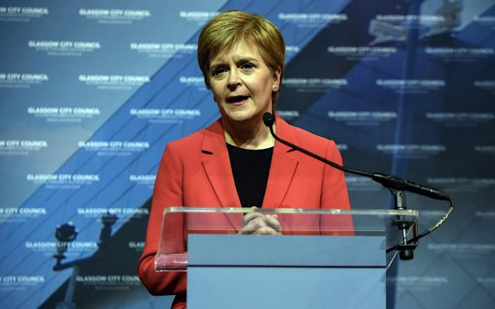Scotland's First Minister and leader of the Scottish National Party - ANDY BUCHANAN/AFP