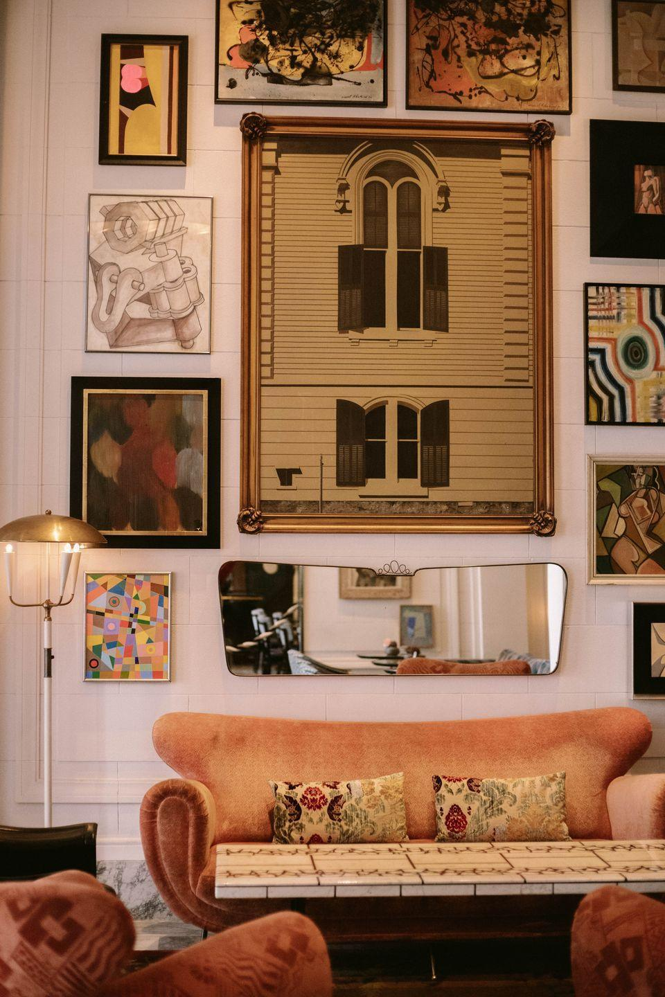 """<p><strong>What are your best tips for helping people emulate boutique hotel style at home?</strong></p><p>""""I've always believed in staying authentic to the space and location, so I recommend looking at the architectural structure for inspiration. My aesthetic is also about mixology—the juxtaposition of contemporary and classic, masculine and feminine, raw and refined—to give a space a contemporary yet comfortable feel. In both residential interiors and hotel spaces, I like to incorporate vintage and soulful historic reference points to create this spirit."""" </p><p><strong>What are some specific pieces or design features to add to your collection to achieve boutique hotel style?</strong></p><p>""""With all of my hospitality projects, I always incorporate local artisans and artwork and even indigenous materials to capture a city's soul and infuse it into a property. A hotel lobby filled with as many locals as travelers is a testament to authenticity, so I want to be able to create a link to the local residents within the overall style."""" <strong><br></strong></p>"""