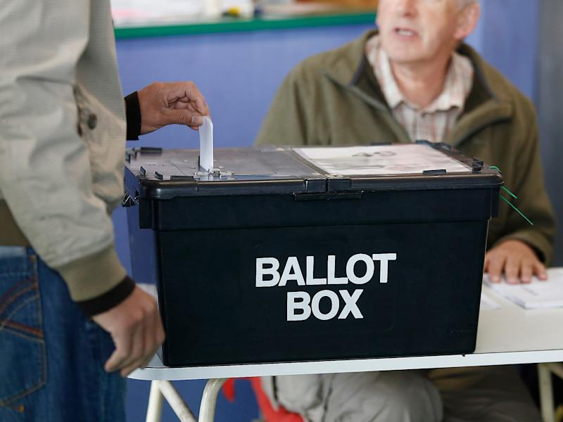'Taken overall, Labour looks certain to be the first opposition party to lose grounds at local elections for three years in succession,' Professor John Curtice added: Bloomberg via Getty Images