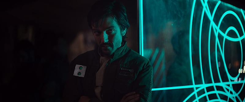 Diego Luna is excited by the nice challenge of making the Cassian Andor television series (Image by Disney)