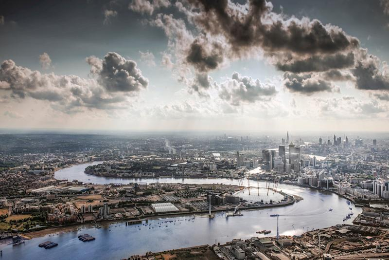 The Thames Path runs alongside the famous river - getty