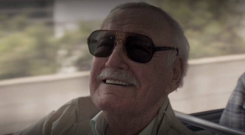 Stan Lee was subtly de-aged to his 'Mallrats' appearance in 'Captain Marvel' (Photo: Marvel Studios/Disney+)