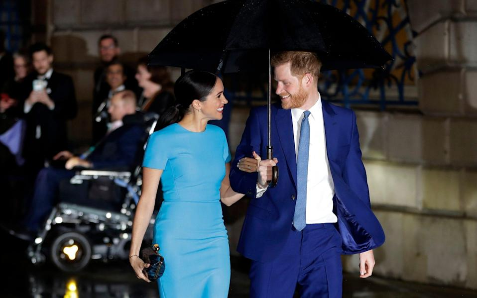 The Duke and Duchess of Sussex - AP Photo/Kirsty Wigglesworth