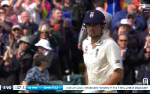 AN Cook - Credit: Sky Sports Cricket