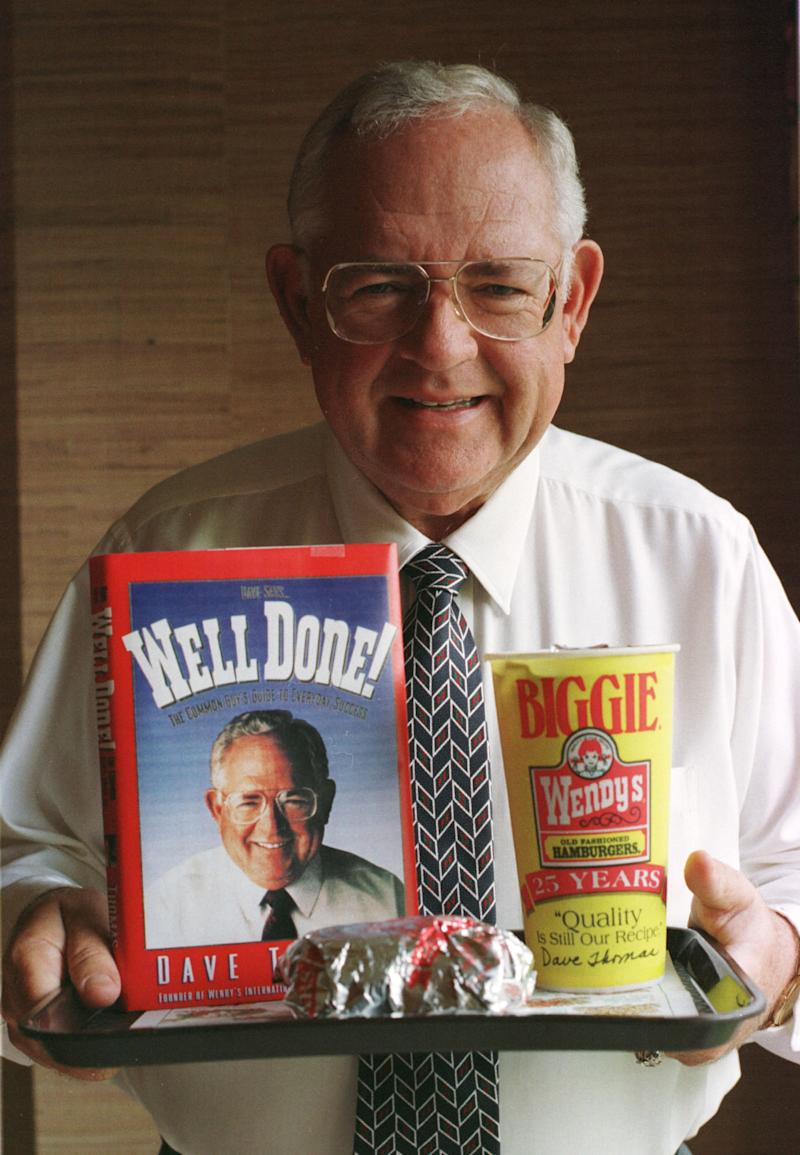 Dave Thomas's homespun ads built Wendy's Old-Fashioned Hamburgers into one of the world's most successful fast-food franchises. | Chris Kasson—AP/REX/Shutterstock