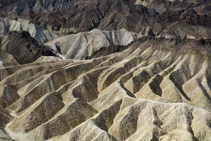 <p>The sandy dunes ripple across Death Valley National Park, California. // March 29, 2016</p>