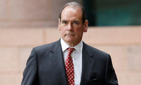 FILE PHOTO: Norman Bettison arrives at Preston Crown Court, Britain, September 6, 2017. REUTERS /Andrew Yates/File Photo