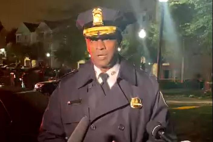 Image: D.C. Executive Assistant Police Chief Ashlan Benedict (Twitter/D.C. police)