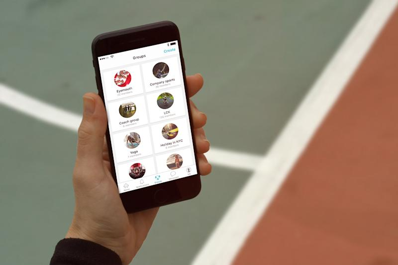 The app makes it easier than ever to find your sports team and communicate with them about matches and subs payments (Spond)