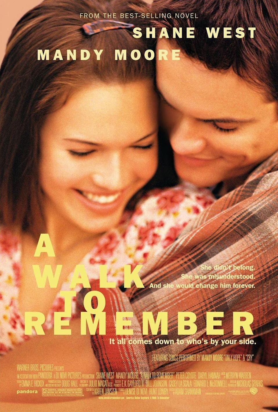 "<p>""But our love... It's like the wind. I can't see it, but I can feel it.""</p><p><em>—A Walk To Remember </em>(2002) </p>"