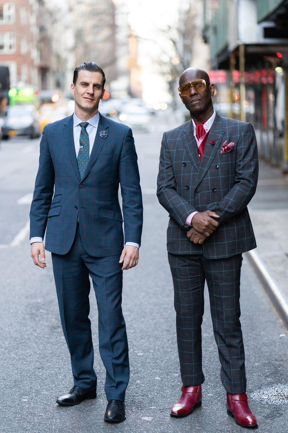 """<p><strong>Brand:</strong> Dapper Dan</p><p>The Harlem designer has his own atelier where he creates his made-to-order designs, which are practically synonymous with the hip-hop stars of the '80s and '90s. He's known for reworking designer logos into his clothes, and has collaborated with Gucci. He even has a <a href=""""https://www.penguinrandomhouse.com/books/567498/dapper-dan-made-in-harlem-by-daniel-r-day/"""" rel=""""nofollow noopener"""" target=""""_blank"""" data-ylk=""""slk:memoir"""" class=""""link rapid-noclick-resp"""">memoir</a> out where he talks about his experience as Black designer and how he made his now-famous store on 125th Street. </p>"""