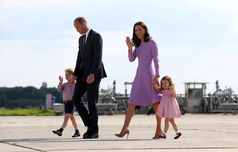 The Duke and Duchess of Cambridge are expecting their third child. (POOL New / Reuters)