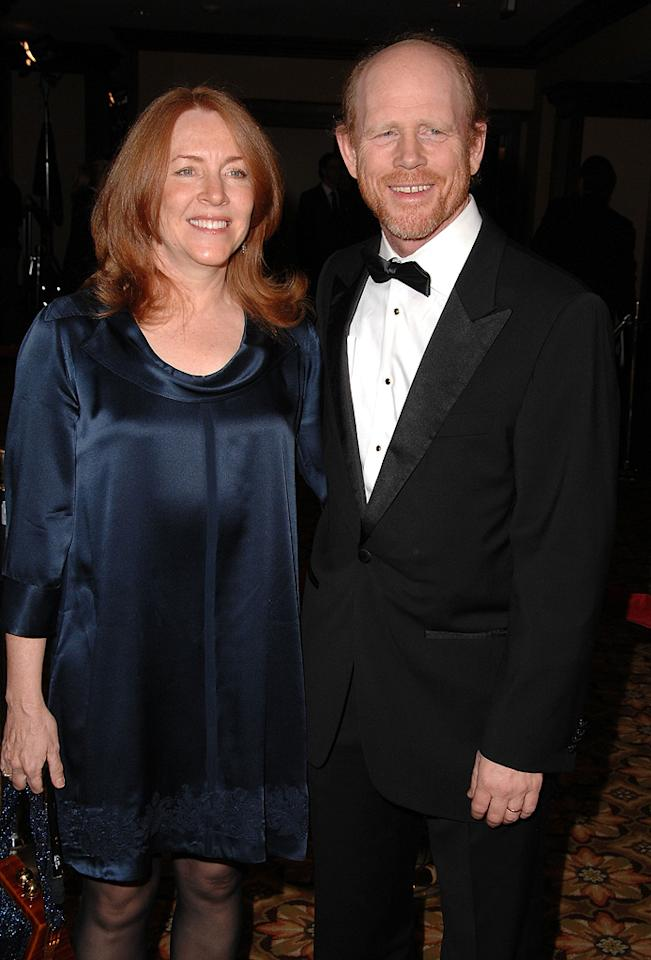 """<a href=""""http://movies.yahoo.com/movie/contributor/1800017103"""">Ron Howard</a> and wife at the 61st Annual Directors Guild of America Awards in Los Angeles - 01/31/2009"""